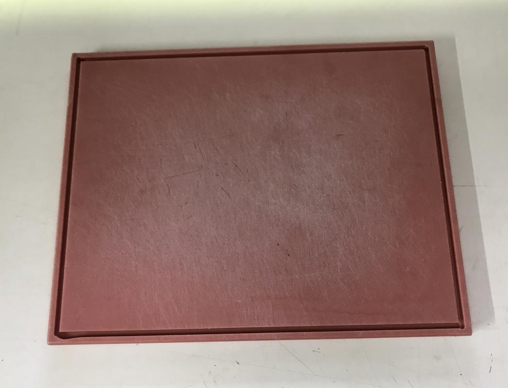 Chopping Board Red 450 X 350 Chefs Hire Catering Hire Equipment Supplier Christchurch